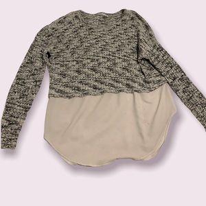 Maternity shirt sweater